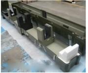 Calage de protection technique - Calage technique et conteneur composite