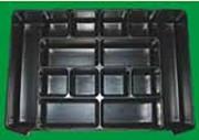 Calage rigide thermoformé - Formes adaptées à vos pièces et au contenant
