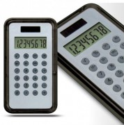 Calculatrices solaires promotionnelles - Dimensions (cm) : 62 x 111 x 9 - 62 x 121 x 8