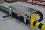 Cale automatique de quai - Avec sécurité anti-écrasement (Norme : ED 6059, EN 13857, EN 349)