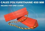 Cale avion en polyuréthane - Pour A300/310/320, MD80 et avions de taille moyenne