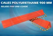 Cale avion en polyuréthane 90 cm - Pour A330/A340, B737 / B767 / B777 / DC10 / MD11 et avions de grande taille