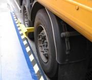 Cale roues de camion - Distance de calage maximale : 4800 mm