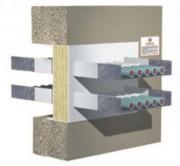 Calfeutrement coupe-feu par panneau de laine de roche - Système innovant