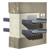 Calfeutrements coupe-feu évolutif et économique - Brique flexible et de la mousse expansive