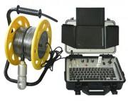 Caméra à tête rotative pour forage - Rotation 180° - Ecran 8