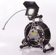Camera axiale câble à pousser 60 mètres - Caméra inspection canalisation