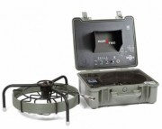 Caméra canalisation exploration horizontale - Inspection vidéo de conduites, réseaux, tuyaux