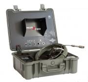 Caméra d'inspection horizontale en acier inoxydable - Jonc vidéo 30 m pour inspection réseaux et canalisations