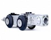 Caméra d'inspection motorisée écran 17 pouces - Robot d'inspection avec caméra rotative 360° et zoom x 10