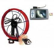Caméra d'inspection verticale - Tête de camera : Rotative 360° Plan et 180° Tilt
