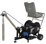 Caméra d'inspection verticale puits de forage - Caméra d'exploration 500 mètres de profondeur maxi