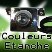 Caméra de recul fonction mirroir couleur et 100% étanche - Réf: CA3100