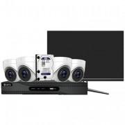 Caméra de vidéo surveillance - Kit de 4 caméras en 4K