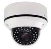 Caméra dôme analogique anti-vandale - Vision nocturne de 30m
