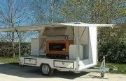 Camion à pizza - Camion ambulant - à un essieu