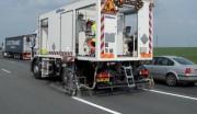 Camion applicateur marquage routier - Marquage urbain, routier et autoroutier