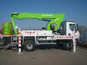 Camion avec nacelle - Charge nacelle 300 kg