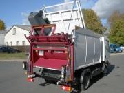 Camion benne à déchets - Capacités (m³) : de 5 à 6.5