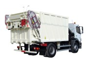 Camion benne collecte ordures verre - Débit nécessaire (L/min) :  40