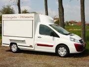 Camion boulanger - Petie utilitaire - Utilitaire 2.43 m - Utilitaire 3.10 m