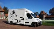 Camion chevaux - Esthétique tendance et luxueuse