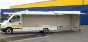 Camion de marché - Pour produits manufacturés
