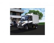 Camion frigo électrique - Batterie : 48 V. Disponible également en location