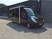 Camion magasin friterie Renault Master - Friterie sur base renaultmaster plancher cabine