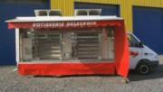 Camion magasin rôtisserie - Camion de marché VL