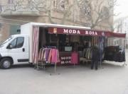 Camion magasin vêtement - Pour vente ambulante