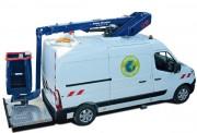 Camion nacelle - Charge utile de 300 kg