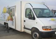 Camion pour fruits et légumes - Camion de tournée