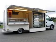 Camion pour rôtisserie - Camion magasin