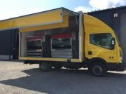 Camion rôtisserie Nissan - Camion Magasin VASP professionnels haut de gamme