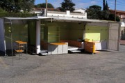 Camion textile chassis Opel - Commerce ambulant