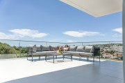 Canapé de jardin modulable en acier - En acier nombreuses dimensions modulable en canapé d'angle