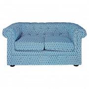 Canapé revêtement tissu - Style : rétro, vintage, scandinave