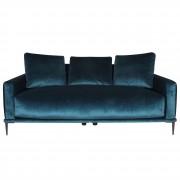 Canapé Vintage en velours - Confortable canapé Vintage en velours