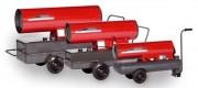 Canon à air chaud au fioul - Puissance : 25 à 93 kW - Capacité de réservoir : 40 à 160 L