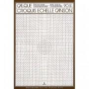 CANSON Bloc de papier calque croquis échelle 50 feuilles 90g A4 Ref-17143 - Canson