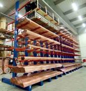 Cantilever charges longues - Capacité : 50 à 2500 kg par bras de stockage