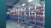 Cantilever de stockage charges lourdes - Dimensions colonnes (mm) : 2500 - 7500
