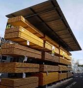 Cantilever extérieur à toiture - Toiture : simple ou double