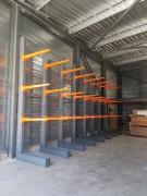Cantilever métallique - Charges longues lourdes et encombrantes