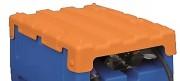 Capot polyéthylène pour station Adblue - Pour station 200 L - Poids: 2 kg - Couleur orange