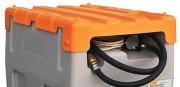Capot polyéthylène pour station gasoil 125L et 200L - Poids : 2 kg - couleur orange