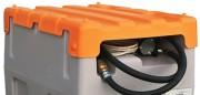 Capot pour station mobile à fuel - En polyéthylène - Pour cuve 125 ou 200 L
