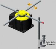 Capteur de proximité - Équipé d'une lame souple sensible au champ magnétique mobile