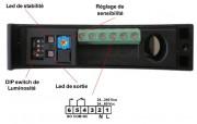Capteur de proximité industriel - Existe en 5 modèles optiques de 2 à 50 m